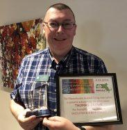 thomas crowe receives award